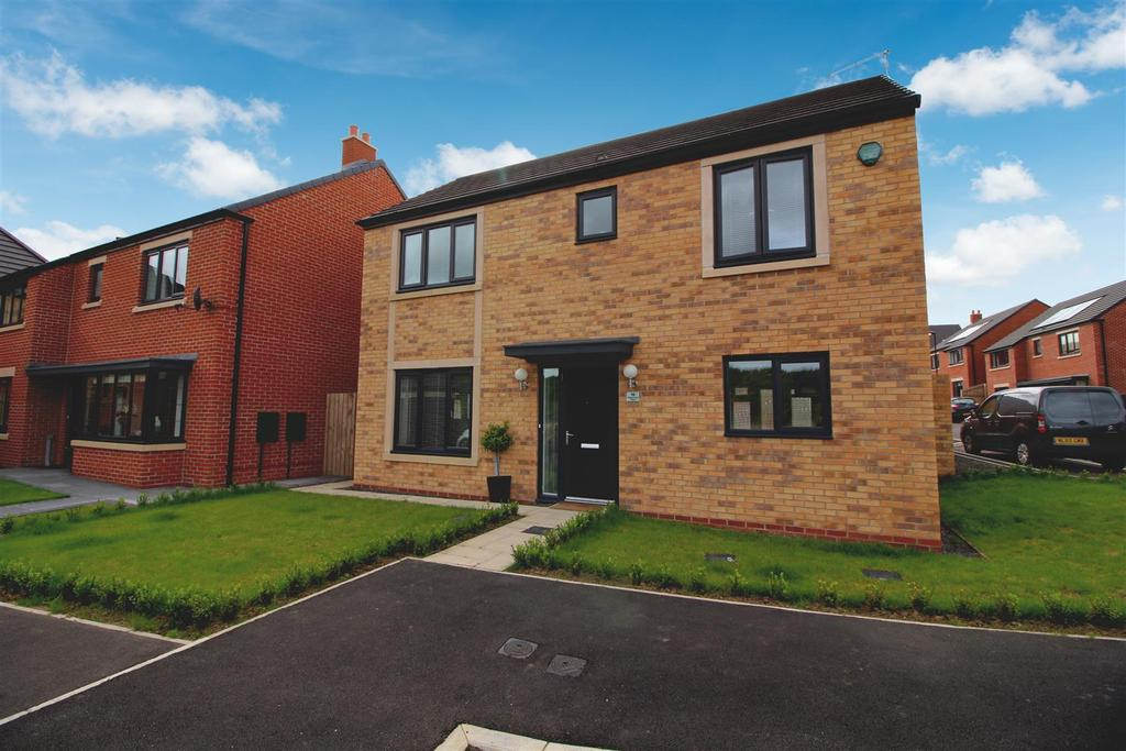 3 Bedrooms Detached House for sale in Brambling Place, Wideopen, Newcastle Upon Tyne