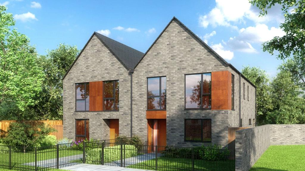 3 Bedrooms Semi Detached House for sale in Copper Beech House, College Road, Epsom, Surrey, KT17