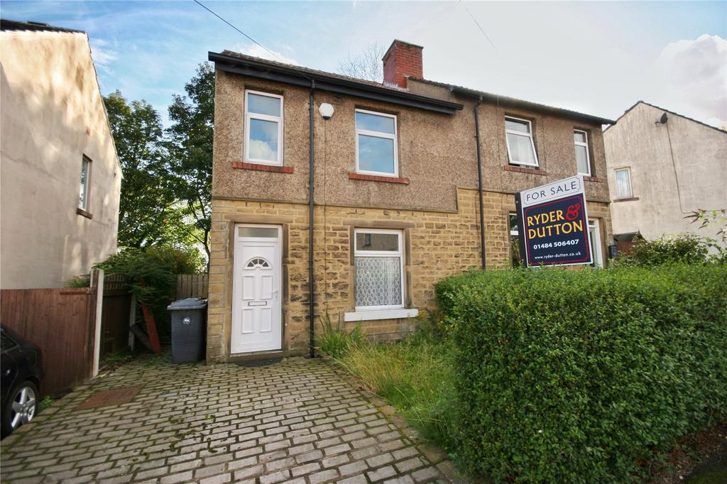 2 Bedrooms Semi Detached House for sale in Rose Avenue, Marsh, Huddersfield, West Yorkshire, HD3