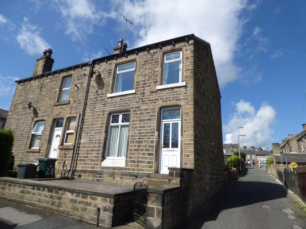 3 Bedrooms End Of Terrace House for sale in Bowling Street, Cowlersley, Huddersfield, West Yorkshire, HD4