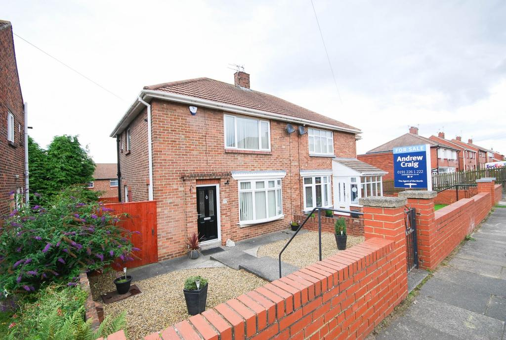 2 Bedrooms Semi Detached House for sale in Dunelm Drive, West Boldon