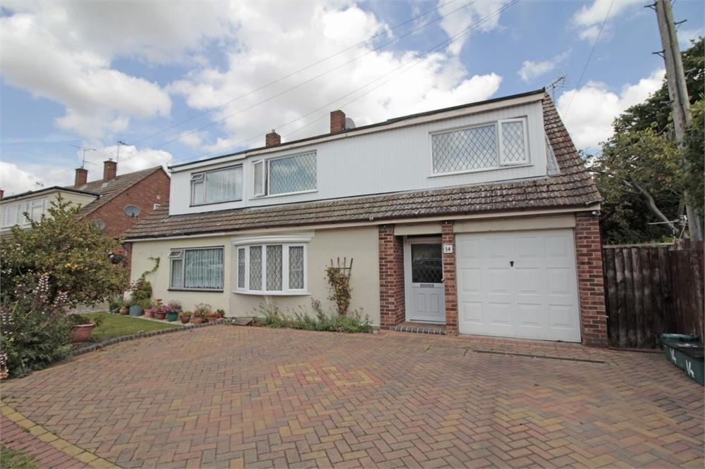 4 Bedrooms Semi Detached House for sale in Holly Way, Tiptree, COLCHESTER, Essex