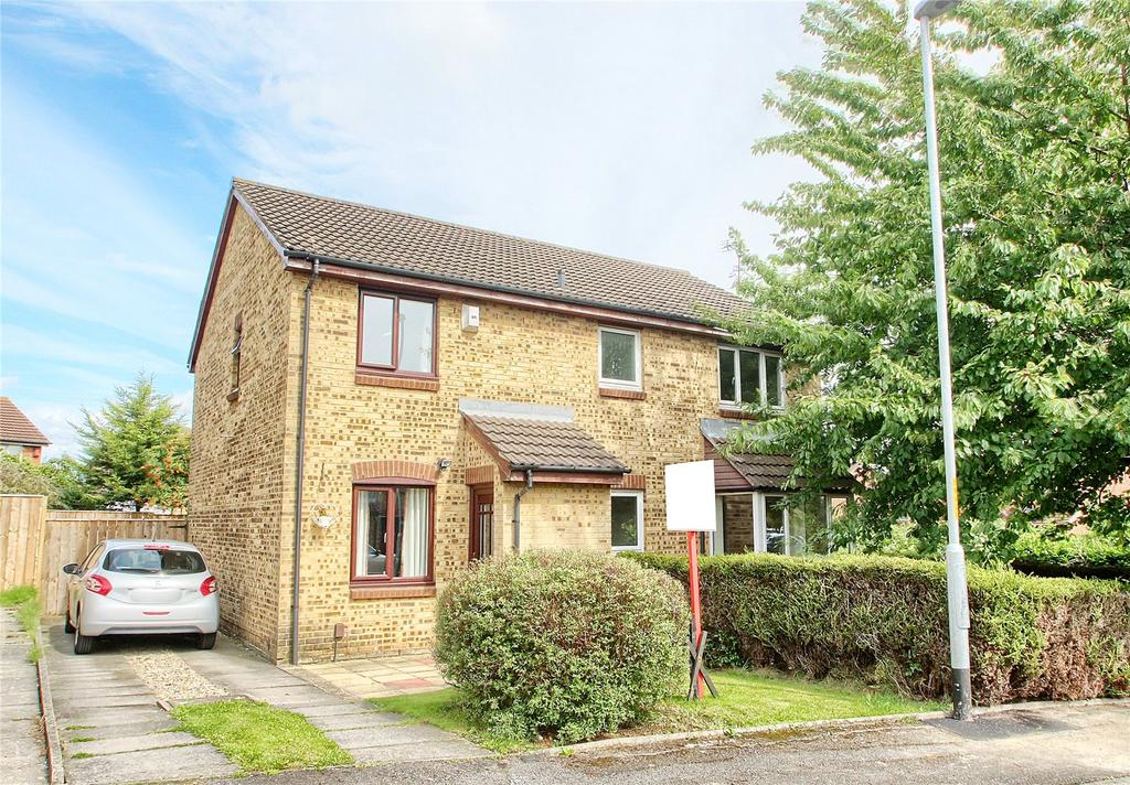 2 Bedrooms Semi Detached House for sale in Barford Close, Norton