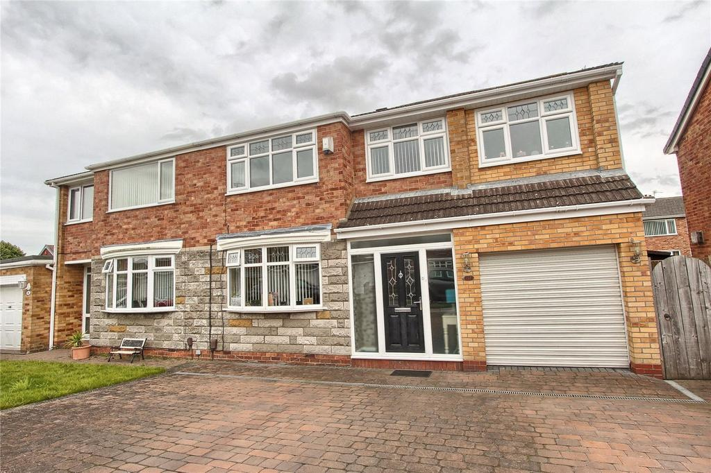 4 Bedrooms Semi Detached House for sale in Sandy Lane, Wolviston Court