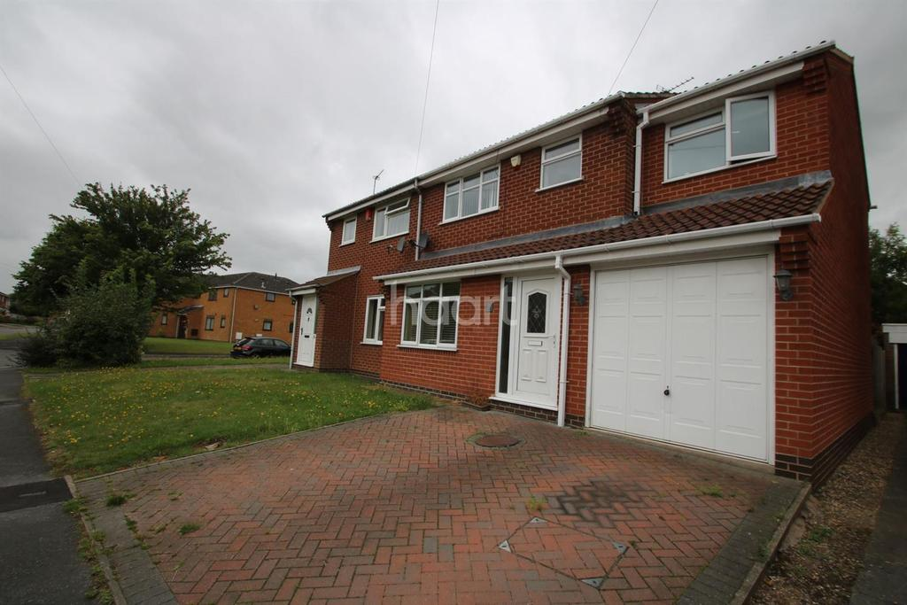 4 Bedrooms Semi Detached House for sale in Spinney Halt, Whetstone, Leicestershire