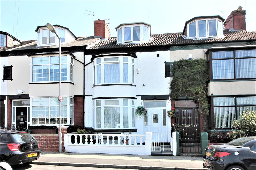 4 Bedrooms Terraced House for sale in Wadham Road, Bootle, L20