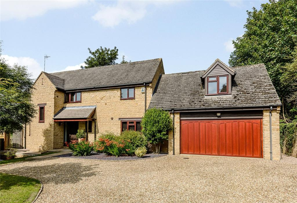 4 Bedrooms Detached House for sale in Sterling Court, Loddington, Kettering, Northamptonshire