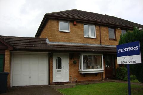 3 bedroom end of terrace house to rent - Thornton Road, Monkspath, B90 4TF