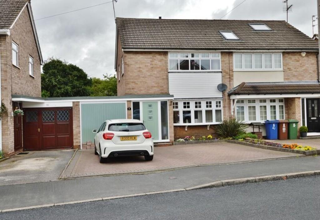 3 Bedrooms Semi Detached House for sale in Bush Drive, Rugeley