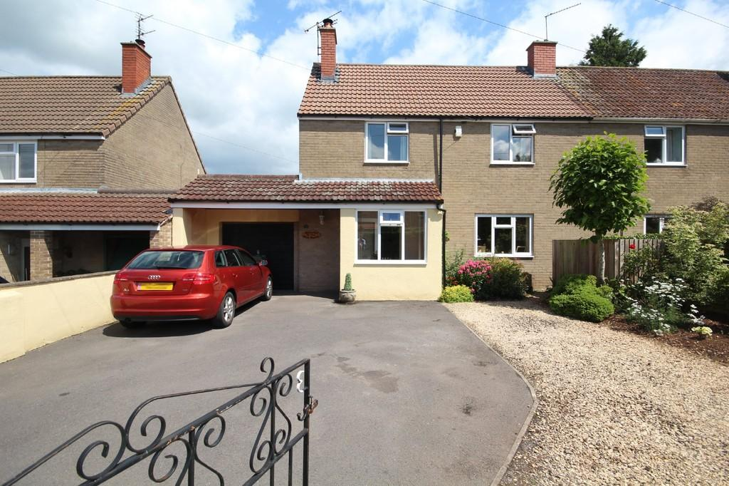 4 Bedrooms Semi Detached House for sale in Bilbie Road, Chew Stoke