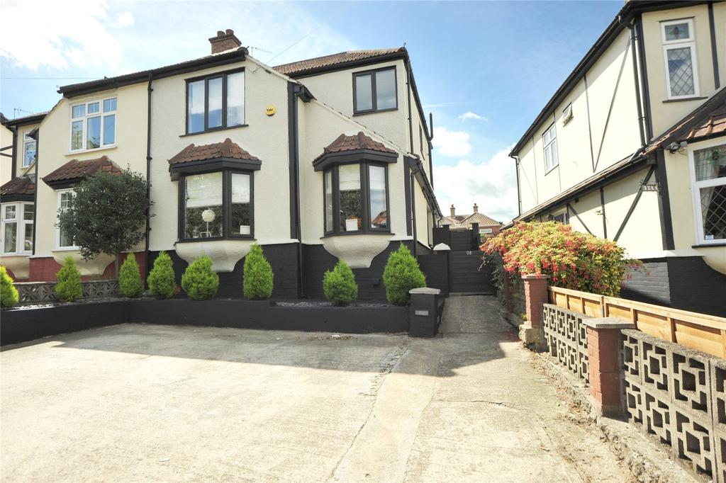 3 Bedrooms Semi Detached House for sale in Slewins Lane, Hornchurch, RM11