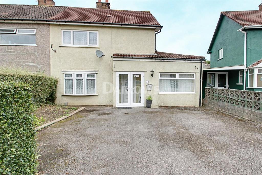2 Bedrooms End Of Terrace House for sale in Keyston Road, Fairwater