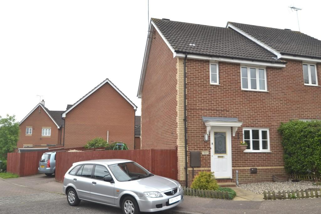 3 Bedrooms Semi Detached House for sale in Mayfly Close, Ipswich