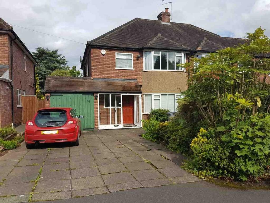 3 Bedrooms Semi Detached House for sale in Cambridge Ave, Solihull