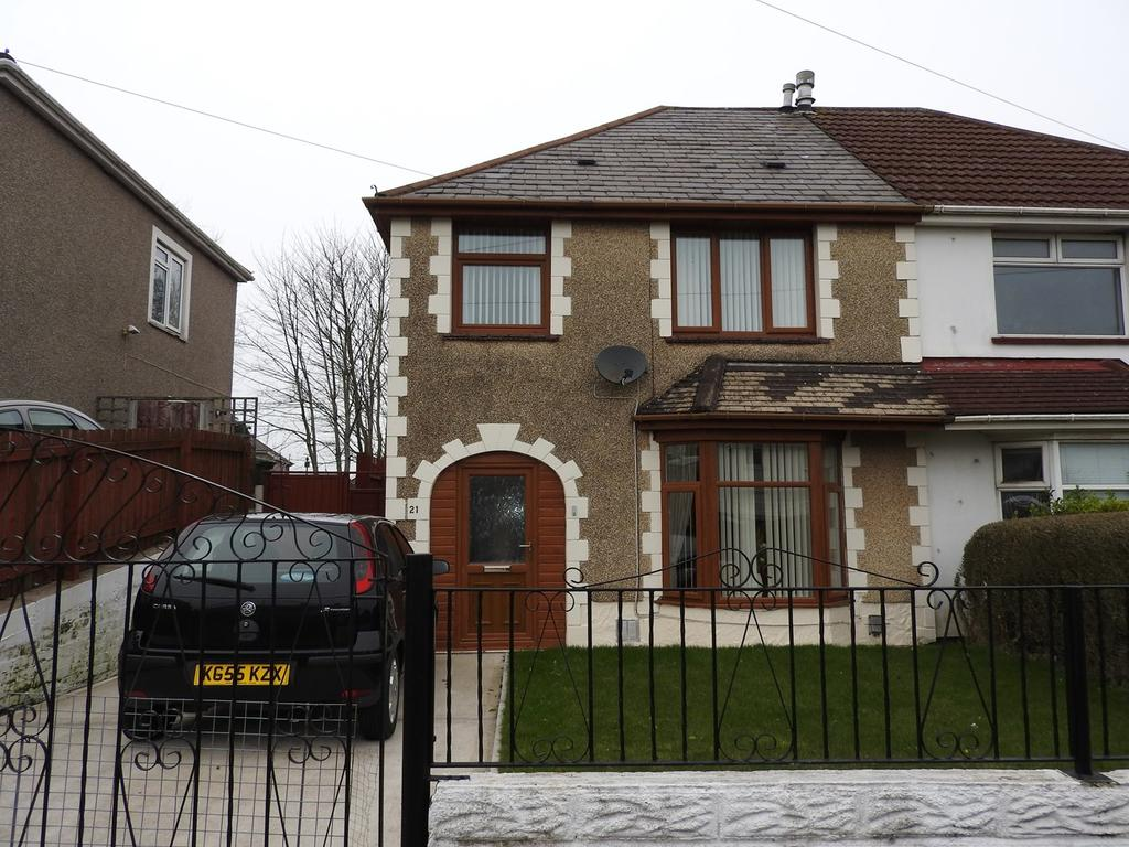 3 Bedrooms Semi Detached House for sale in Mayhill Road, Mayhill, Swansea, SA1
