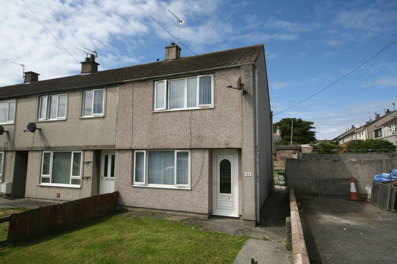 3 Bedrooms End Of Terrace House for sale in Valley, Anglesey