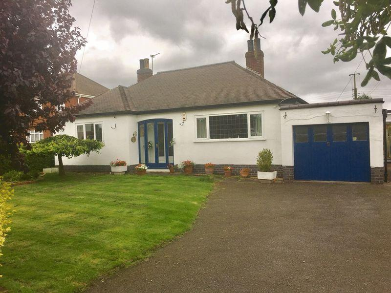 2 Bedrooms Detached Bungalow for sale in Woodville Road, Hartshorne