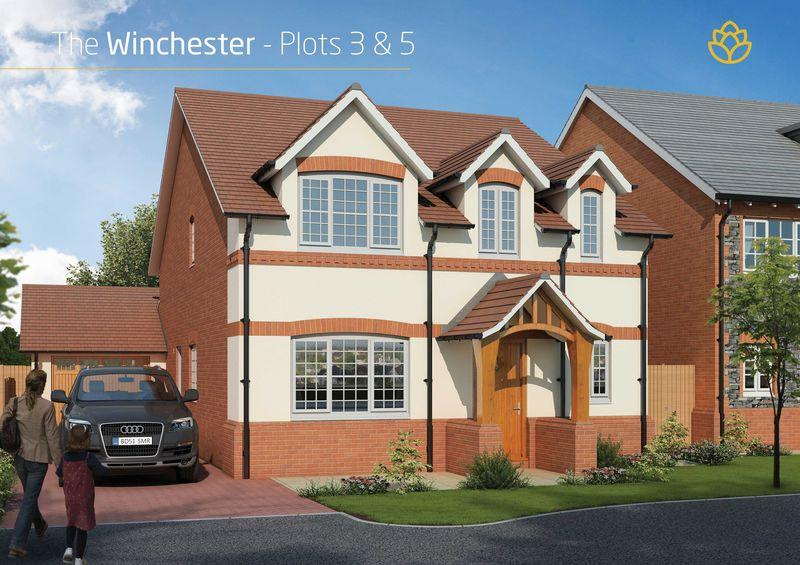 4 Bedrooms Detached House for sale in Plot 3 Winchester, Barley fields, Lea Lane, Preston **HELP TO BUY PRICE-296,000**