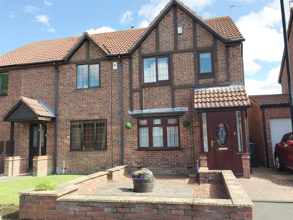 3 Bedrooms Semi Detached House for sale in Rydal Close, Killingworth, Newcastle Upon Tyne