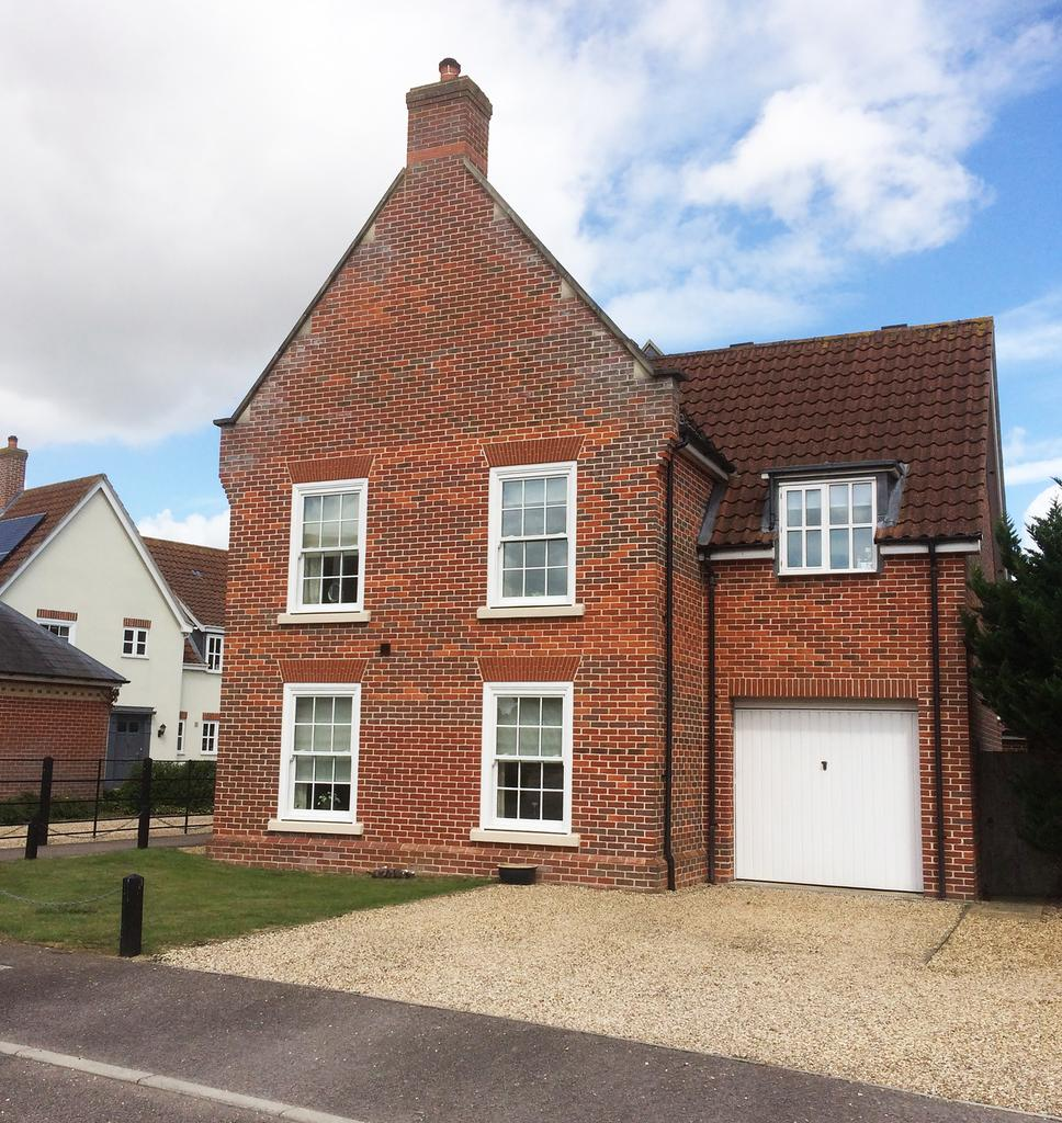 4 Bedrooms Detached House for sale in Gardeners Walk, Elmswell, Bury St Edmunds IP30