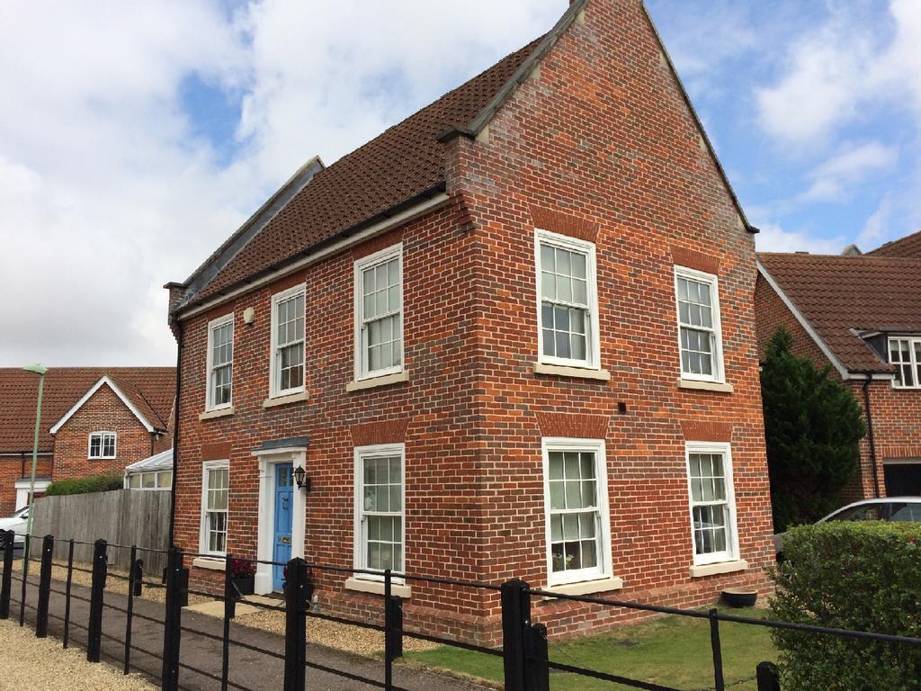 4 Bedrooms Detached House for sale in Gardeners Walk, Elmswell, Bury St Edmunds IP30