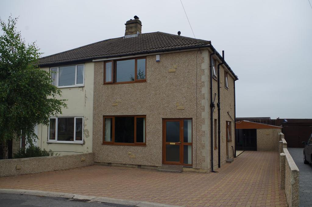 3 Bedrooms Semi Detached House for sale in Cooper Grove, Shelf, Halifax HX3