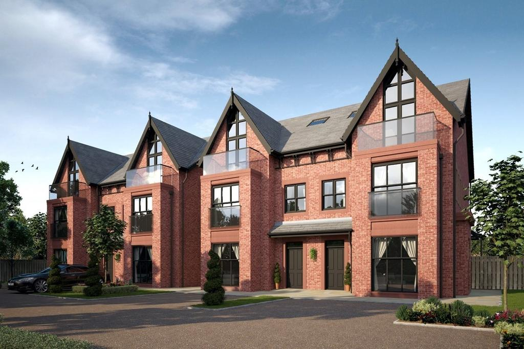 5 Bedrooms Semi Detached House for sale in Plot 2, The Hollies, Palatine Road, West Didsbury