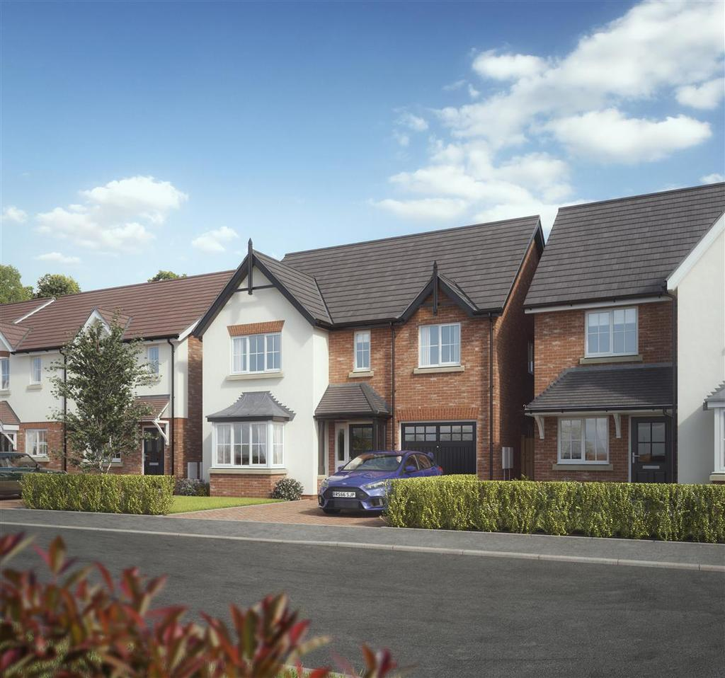 4 Bedrooms Detached House for sale in Plot 14, Rippon, Kings Vale, Baschurch, SY4 2DP