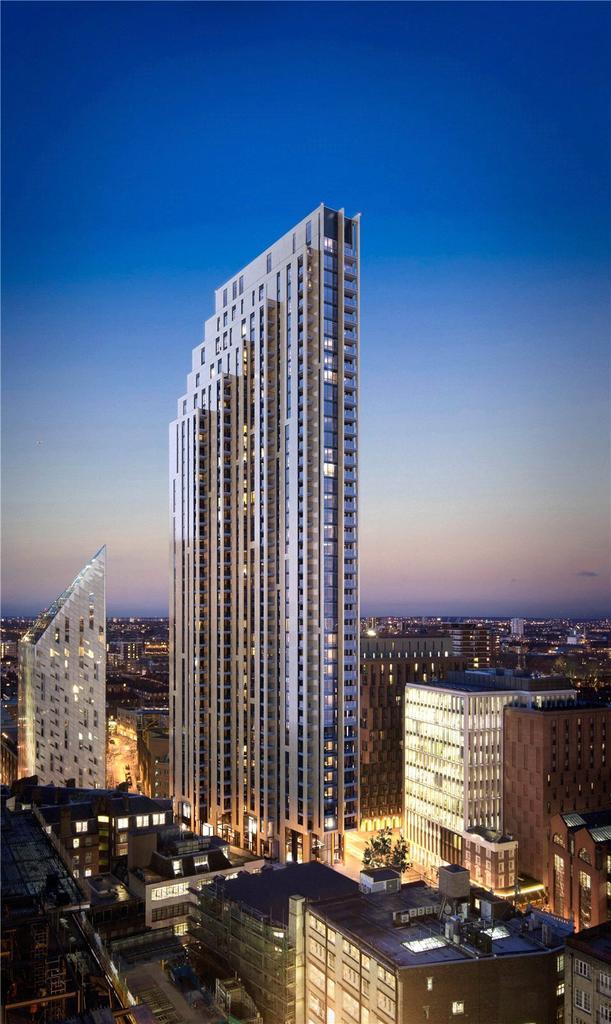 2 Bedrooms Penthouse Flat for sale in Atlas, City Road, London, EC1V