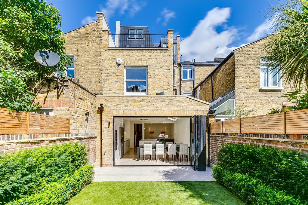 5 Bedrooms Terraced House for sale in Racton Road, West Brompton, Fulham, London