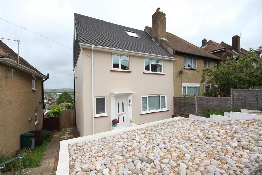 4 Bedrooms Semi Detached House for sale in Westfield Crescent, Patcham, Brighton