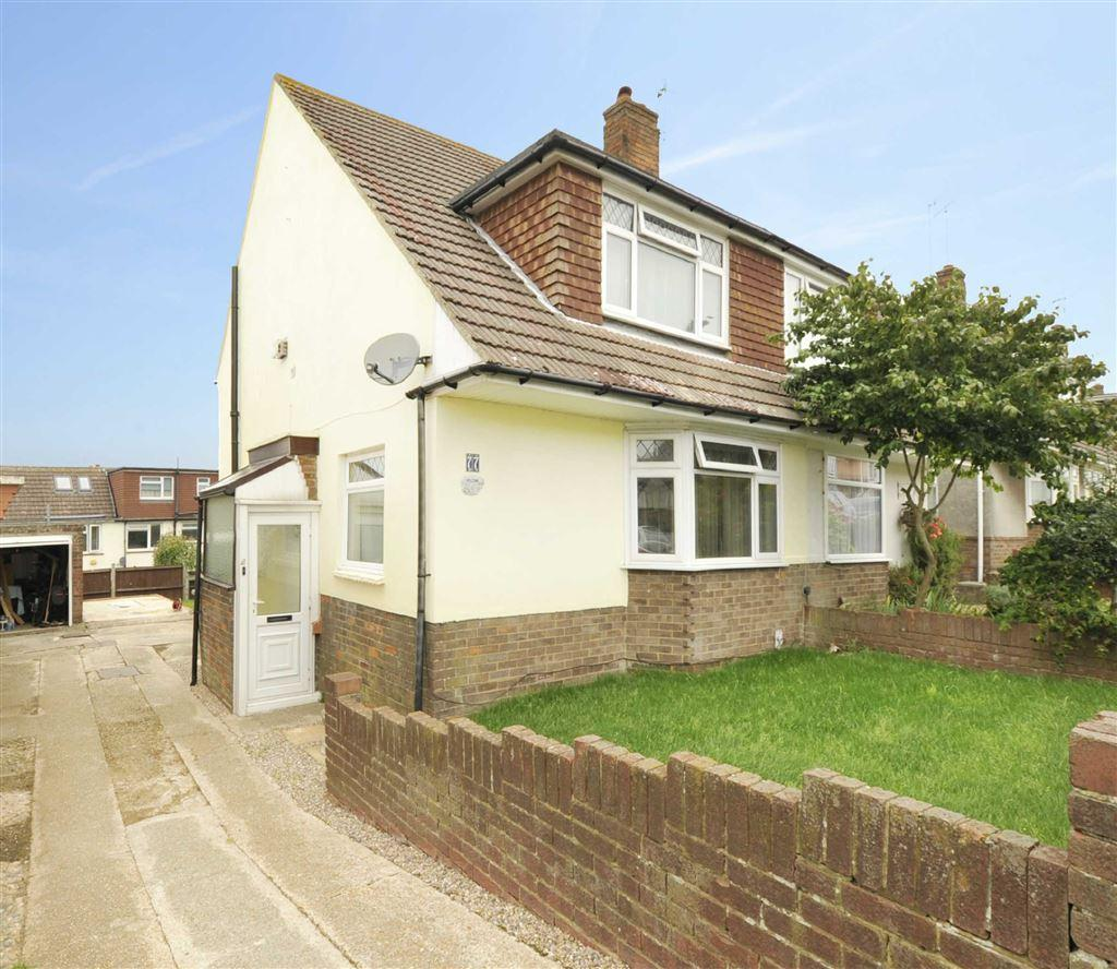 3 Bedrooms Semi Detached House for sale in Thornhill Rise, Portslade