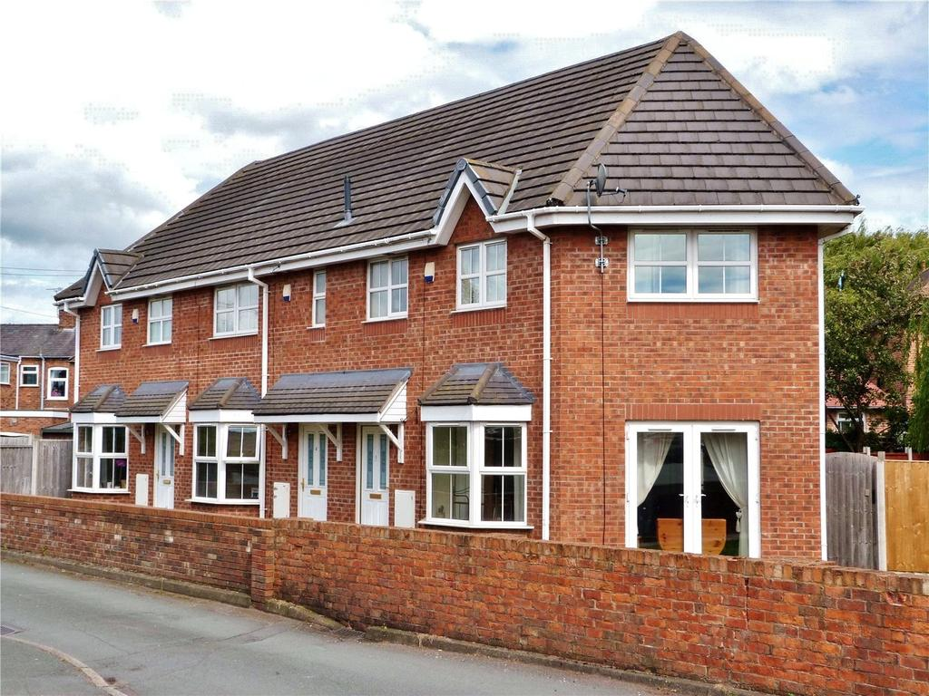 3 Bedrooms End Of Terrace House for sale in Barony Gardens, James Hall Street, Nantwich, Cheshire, CW5
