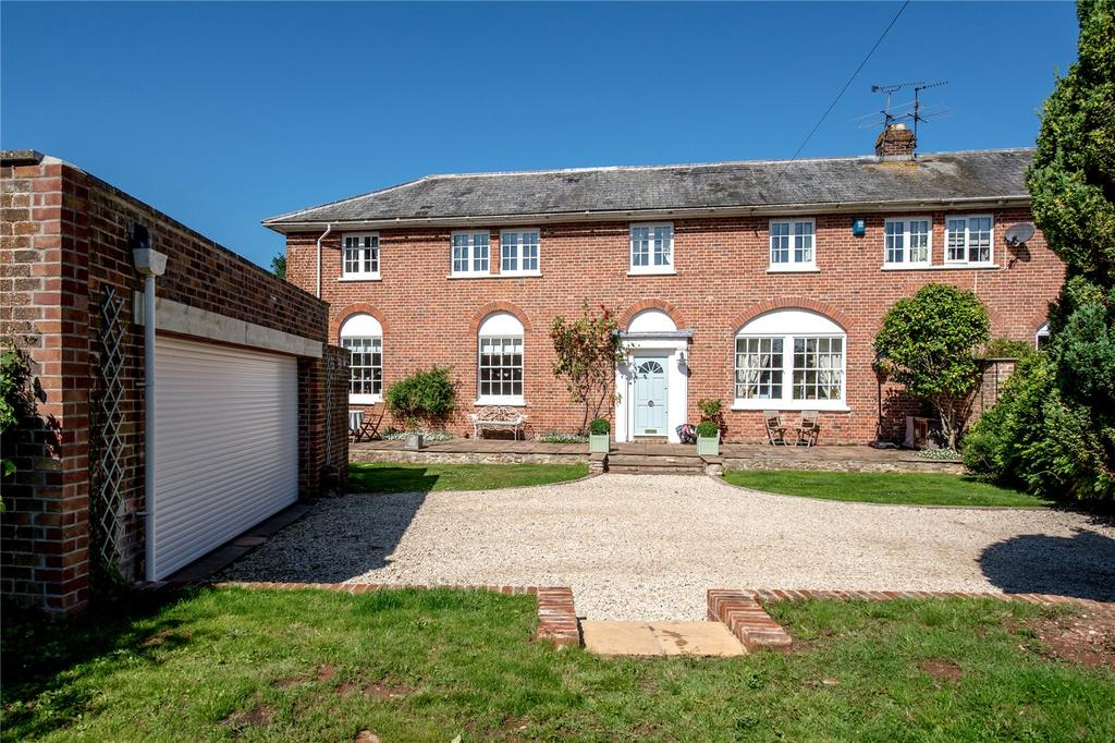 4 Bedrooms Semi Detached House for sale in Heatherton Park, Bradford on Tone, Taunton, Somerset