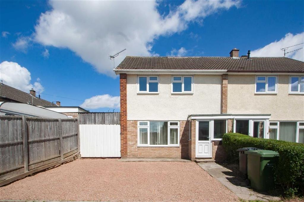 3 Bedrooms Semi Detached House for sale in Partridge Mead, OFF YAZOR ROAD, Hereford