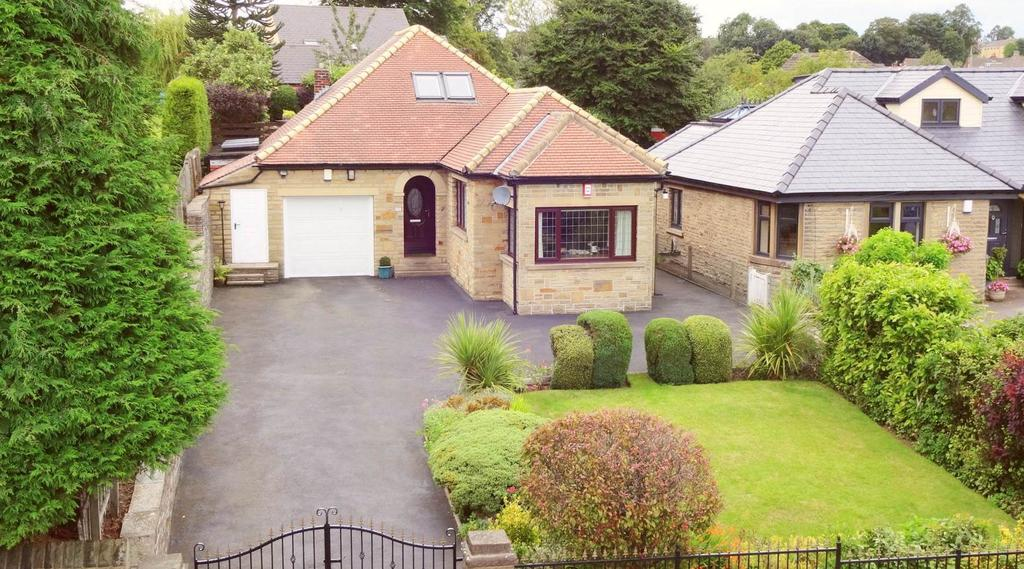 4 Bedrooms Detached Bungalow for sale in Lightcliffe Road, Brighouse HD6