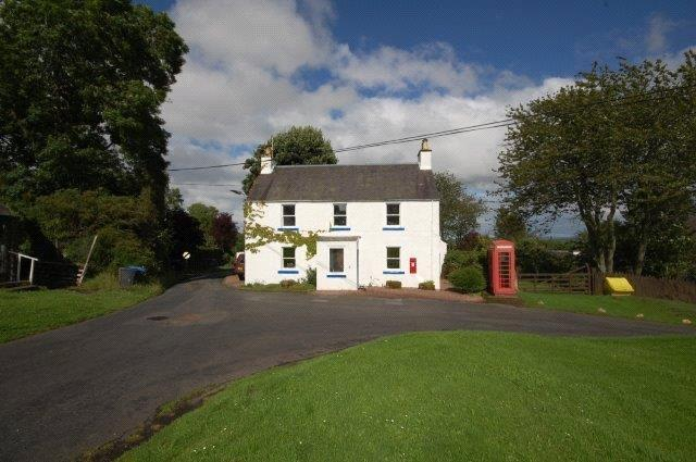 3 Bedrooms Detached House for sale in The Post House, Midlem, Selkirk, Scottish Borders, TD7