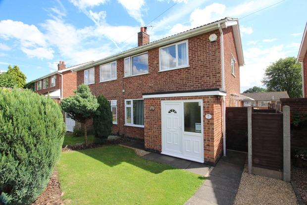 3 Bedrooms Semi Detached House for sale in Ewden Rise, Melton Mowbray, LE13