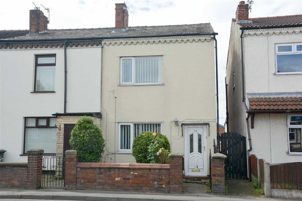 2 Bedrooms End Of Terrace House for sale in Atherton Road, Hindley Green, Wigan, WN2