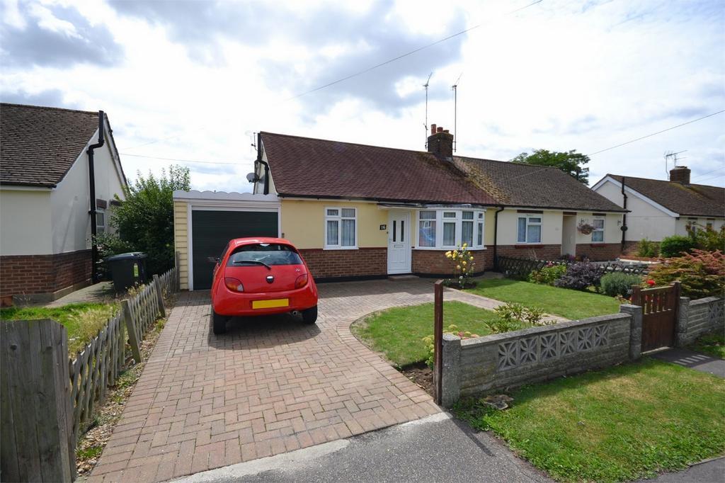 2 Bedrooms Semi Detached Bungalow for sale in Warwick Crescent, Maldon, Essex