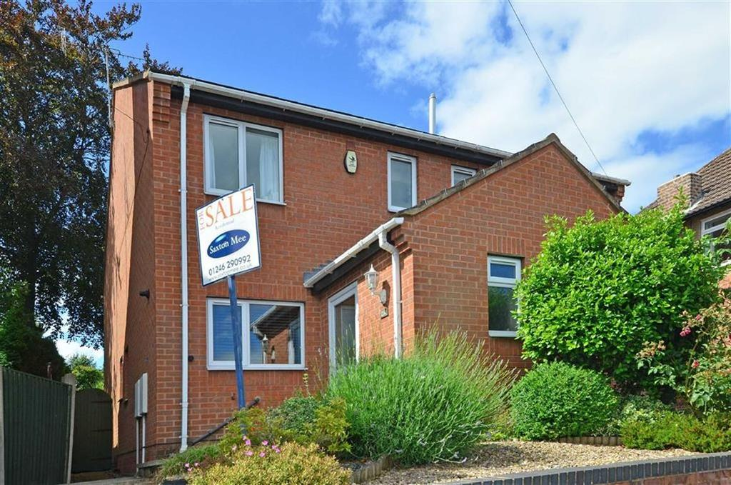 2 Bedrooms Semi Detached House for sale in 23c, Hollingwood Crescent, Hollingwood, Chesterfield, Derbyshire, S43