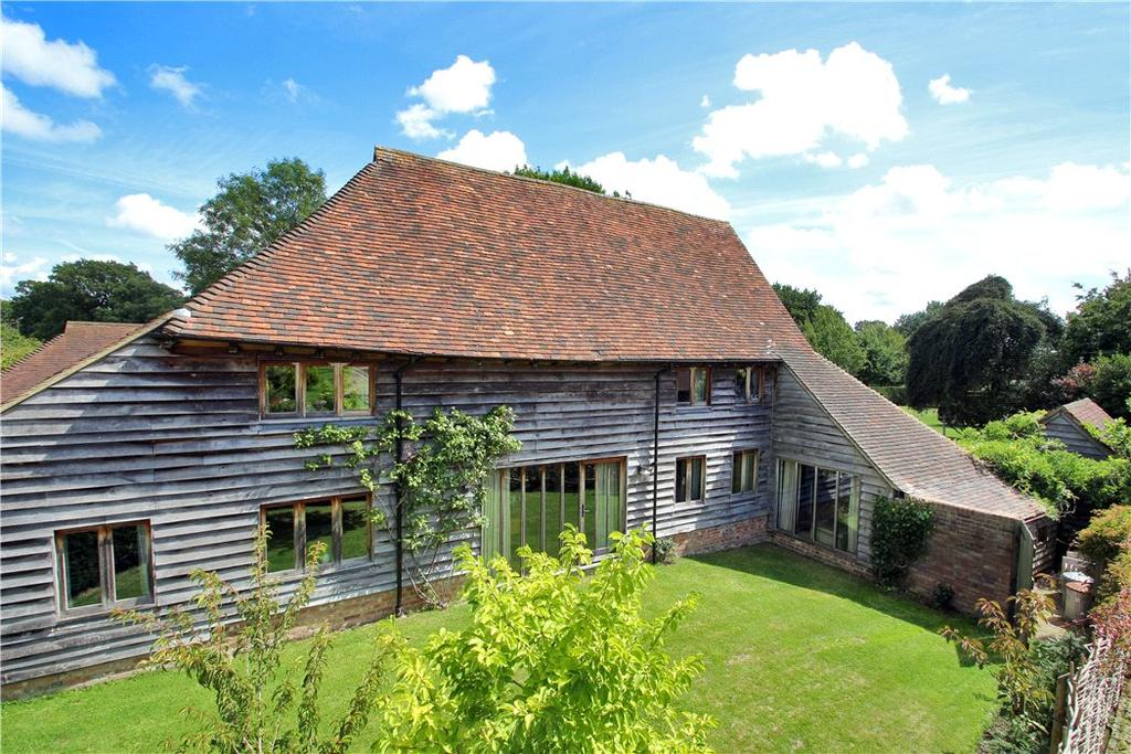 4 Bedrooms Farm House Character Property for sale in Goddards Green Road, Benenden, Cranbrook, Kent, TN17