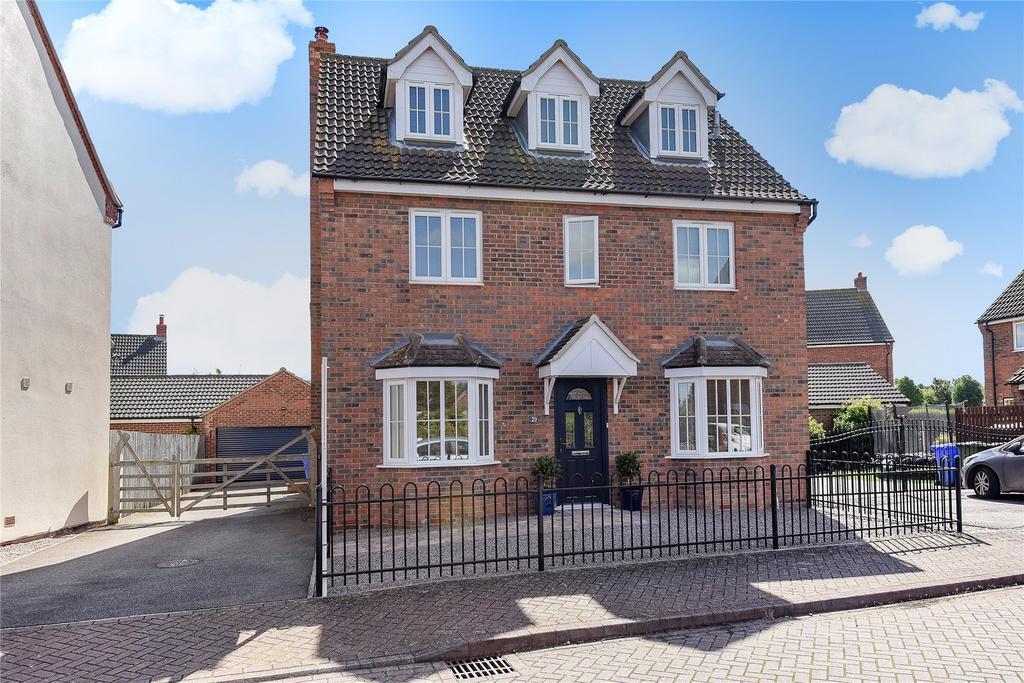 5 Bedrooms Detached House for sale in Monarchs Road, Sutterton, PE20