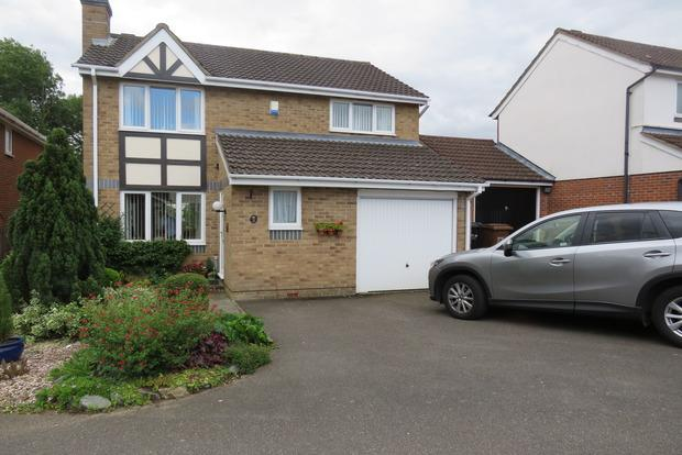 4 Bedrooms Detached House for sale in Kendal Close, Boothville, Northampton, NN3