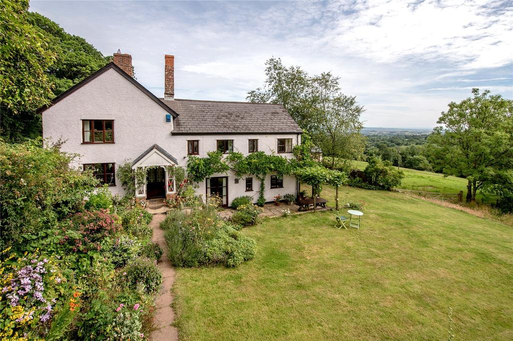 5 Bedrooms Detached House for sale in Wellington Hill, Wellington, Somerset