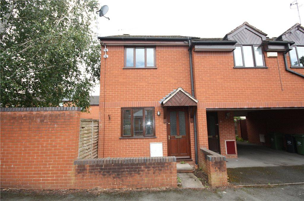 1 Bedroom End Of Terrace House for sale in Northcote Street, Worcester, Worcestershire, WR3