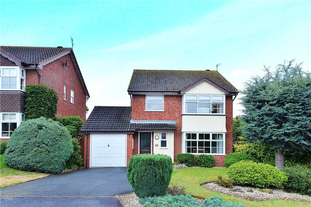 4 Bedrooms Detached House for sale in Kittiwake Drive, Kidderminster, Worcestershire, DY10
