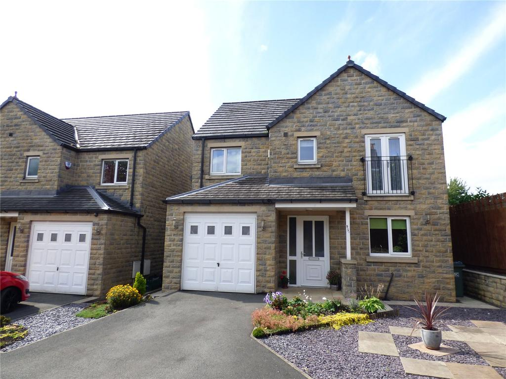4 Bedrooms Detached House for sale in Leeds Road, Liversedge, WF15