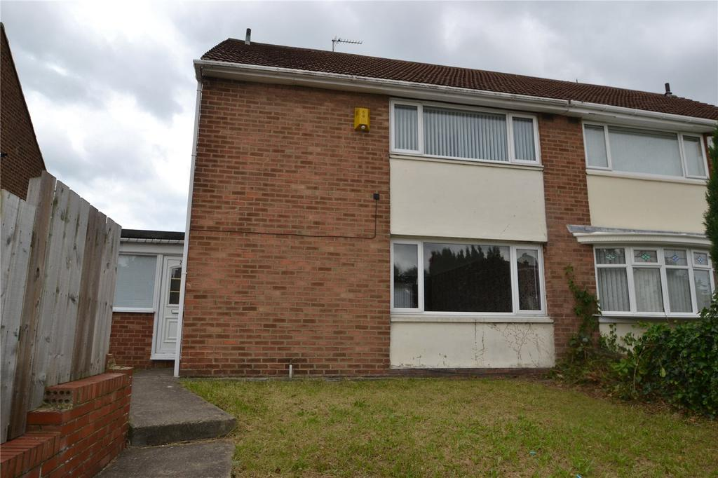 3 Bedrooms Semi Detached House for sale in Amersham Crescent, Peterlee, Co Durham, SR8
