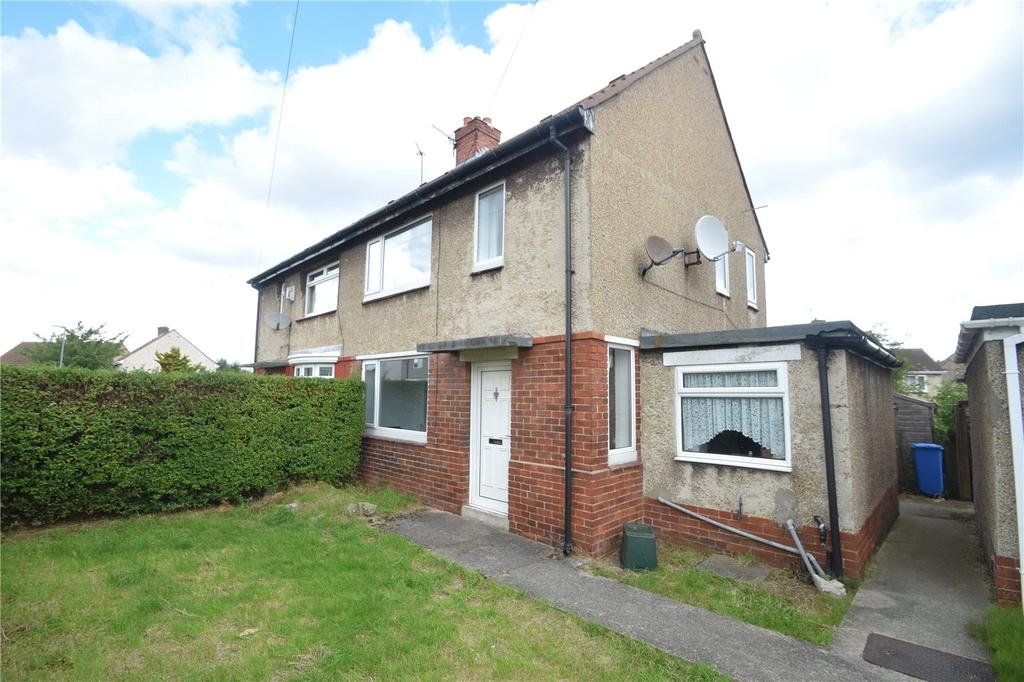 2 Bedrooms Semi Detached House for sale in Wycliffe Road, West Lea, Seaham, Co Durham, SR7